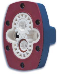 Ceramic pump, a look inside.
